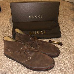 Gucci Shoes | Gucci Chukka Boots Sz
